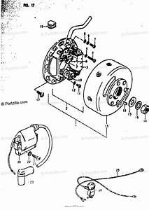 Suzuki Motorcycle 1979 Oem Parts Diagram For Magneto