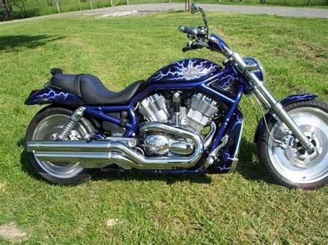 2003 Harley-davidson® Vrsca V-rod® (black Blue), Pulaski