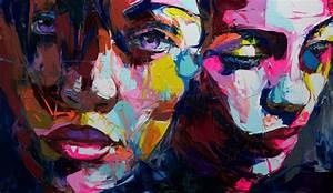 Merkmale Pop Art : francoise nielly moderne kunst f r galerie und wohnzimmer kleider g nstig online bestellen ~ Orissabook.com Haus und Dekorationen