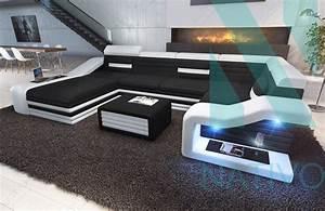 canape mirage xl ac eclairage led nativo mobilier design With canapé design avec led