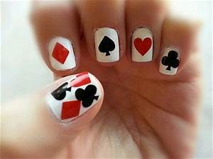 20* Playing Card Suits Vinyl Nail Art Decal Stickers ~Buy ...