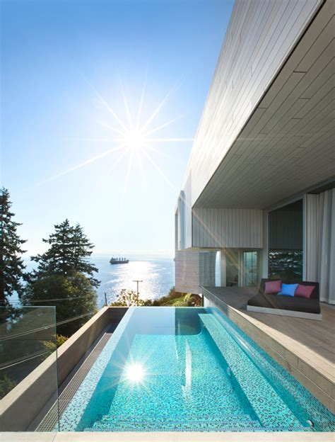 sunset house  mcleod bovell modern houses urdesignmag