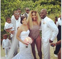 Serena Williams Crashes Wedding In A Swimsuit Video Majic
