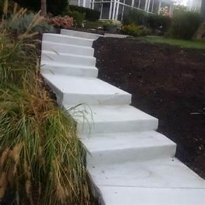Columbus Concrete Steps  Concrete Resurfacing Contractors