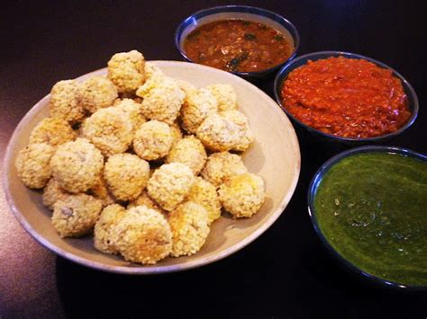 cuisine milet gormandize chadian millet balls with 3 dipping sauces