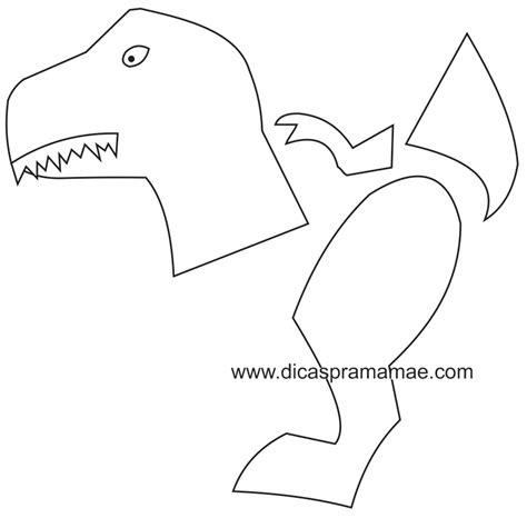 Dinosaur Template Moldes De Dinossauros Feitos Bexigas Birthdays