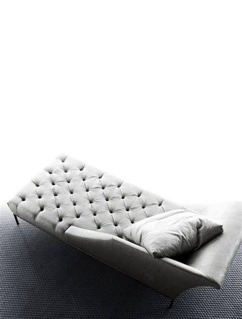 autografo capitonne luxury designer chaise lounge