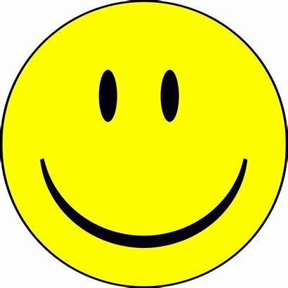 Smiley Animated Face Clip Clipart Faces Happy