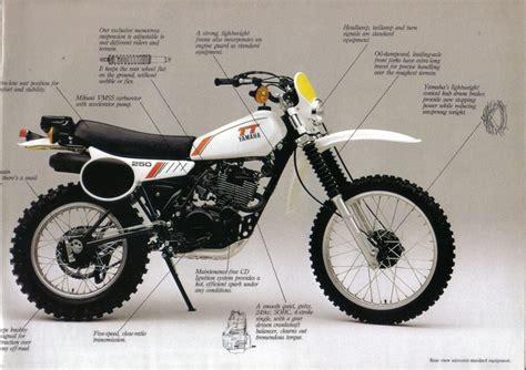 1980 Yamaha Tt 4-stroke Series