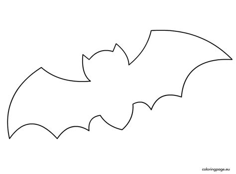 bats template bat stencil printables for