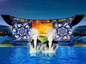 Seaworld San Diego Light Show Shamu 39 S Celebration Light Up The Night Seaworld San Antonio