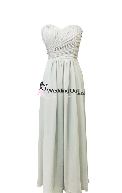 light gray bridesmaid dress light grey bridesmaid dresses style ab101 weddingoutlet
