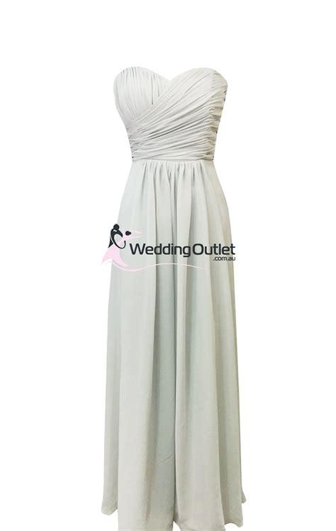 Light Grey Bridesmaid Dresses Style Ab101 Weddingoutlet