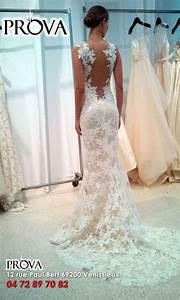 Robe de mariee sirene tout en dentelle a dos nu boutique for Robe de mariée dentelle dos