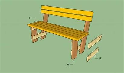 Bench Plans Garden Build Wood Pallet Outdoor