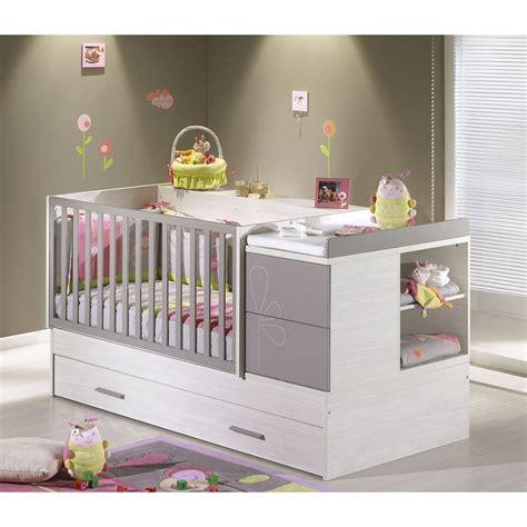 chambre bébé taupe lit bebe taupe