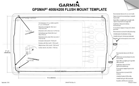 Garmin Gpsmap 4008, Gpsmap 4208 Instruction Manual In English