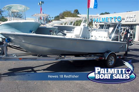 Hewes Boats Charleston Sc by 2018 Hewes 18 Redfisher Power Boat For Sale Www