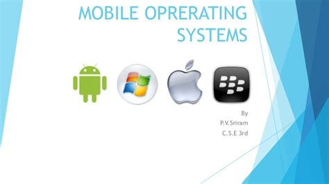 nokia mobile operating system mobile operating systems