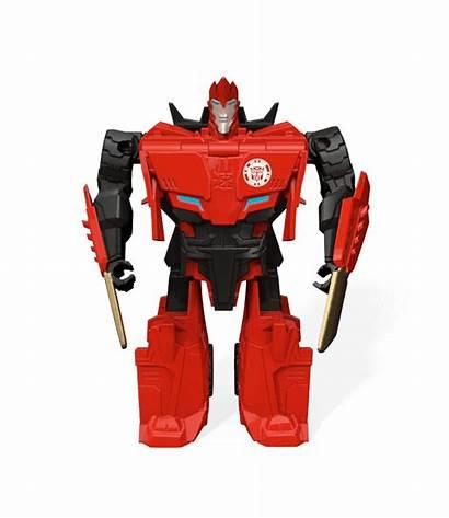 Transformers Disguise Robots Bot Hasbro 3d Sideswipe