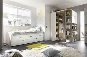Schlafzimmer Begehbarer Kleiderschrank : ausziehbett eckkleiderschrank bett 90cm einzelbett schlafzimmer sandeiche wei ebay ~ Sanjose-hotels-ca.com Haus und Dekorationen