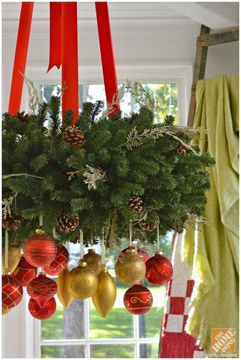 christmas ceiling fan decorating ideas decorating ideas for a cozy family room gold and ornaments on a hanging wreath