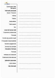 Model cv europass limba romana image collections certificate design model cv europass limba romana image collections certificate design and template yelopaper Choice Image