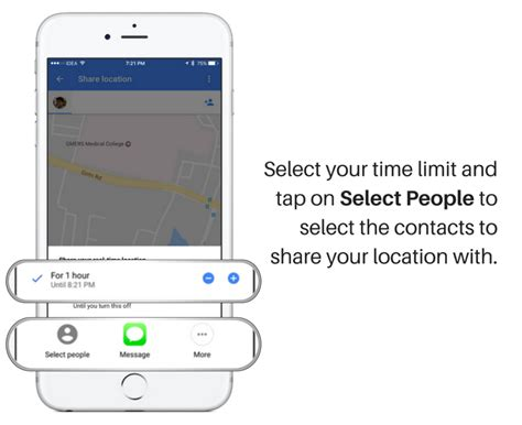 how to your location on iphone how to your location and eta live using maps