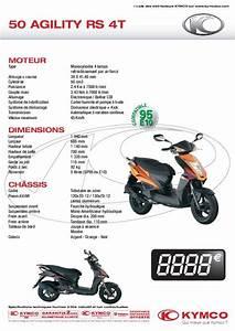 Mode D U0026 39 Emploi Kymco 50 Agility Rs 4t