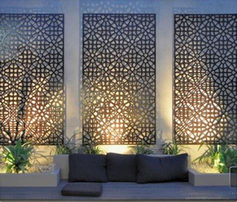 patio wall decor 88 diy simple outdoor wall decorations ideas 89