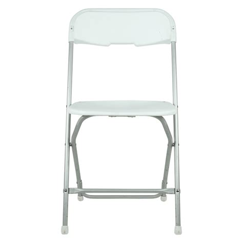 samsonite white folding chair a b tent rental