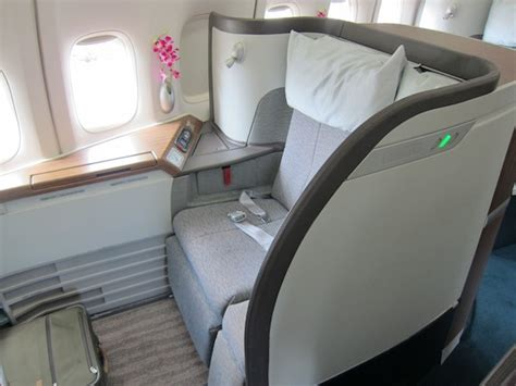 review cathay pacific business class hong kong  bali