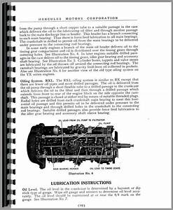 Hercules Engines Rxld Engine Service Manual