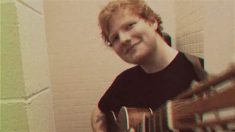 Ed Sheeran [youtube Official Music Video
