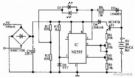 Siwire Nimh Battery Charger Circuit Diagram