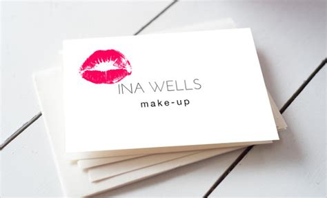 15+ Makeup Artist Business Cards In Psd, Vector Eps, Ai Blank Mini Business Cards Greeting In Bulk Red Box Style Patterned Creative Behance Sample Bakery