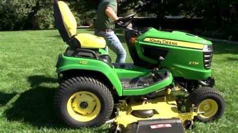 deere 1025r mower deck removal x700 signature series drive mower deck installatio