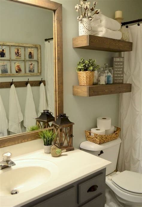 Decorating Ideas For Small Bathroom by 60 Rustic Farmhouse Small Bathroom Remodel And Decor