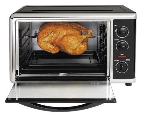 Countertop Oven With Convection by Hamilton Large Capacity Countertop Oven Rotisserie