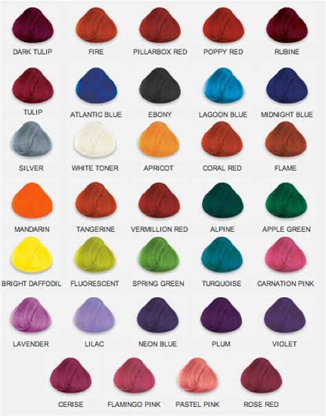 Hair Colours List by 1000 Ideas About Hair Color Charts On Hair