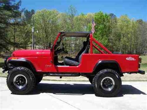 jeep scrambler 1982 sell used 1982 jeep scrambler cj 4x4 in pelham alabama
