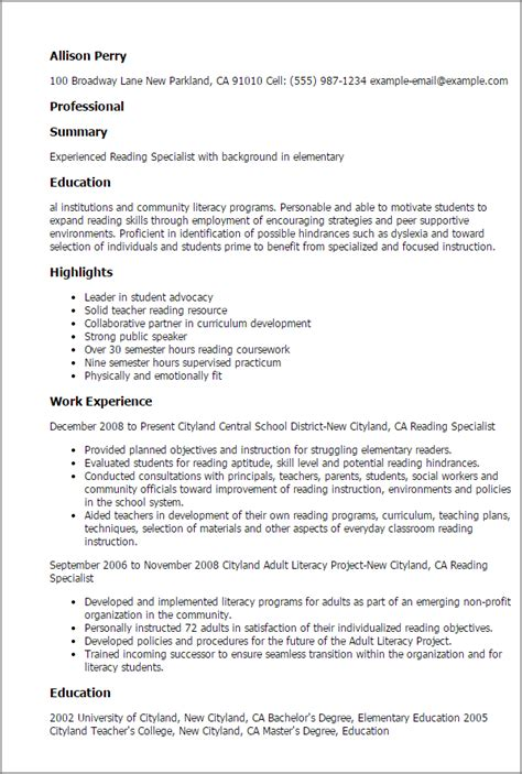 intervention specialist resume objective writingfixya