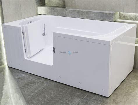 impression full length walk  bathtub  custom door
