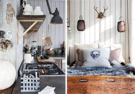chaise norvegienne interieur maison norvegienne