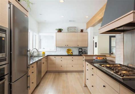 cuisine bois design meuble moderne pour cuisine bois d 39 ambiance authentique