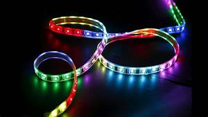 Tira Led De Colores Multi Color Led String Lights Ledwholesalers Rgb 5630 5050 Unboxing And