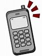 Free Retro Cellular Phone Clip Art