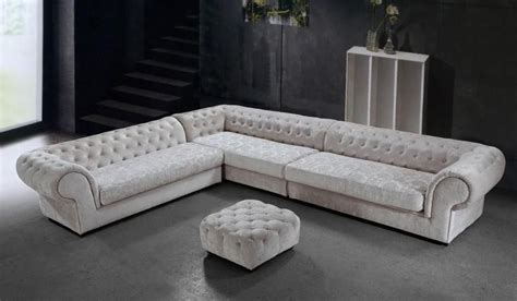 sectional sofas ct graceful tufted microfiber living room furniture