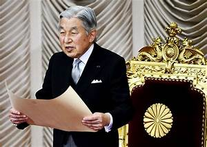 Will the Japanese Akihito be allowed to abdicate?