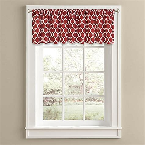 14 Inch Valance by Buy Morocco 14 Inch Window Valance In From Bed Bath
